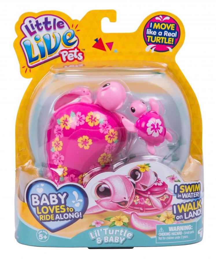 Little Live Pets Season 5 Turtle And Baby S5 Choose From
