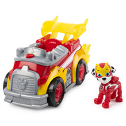 Paw Patrol Mighty Pups Super Paws Marshall Deluxe Vehicle