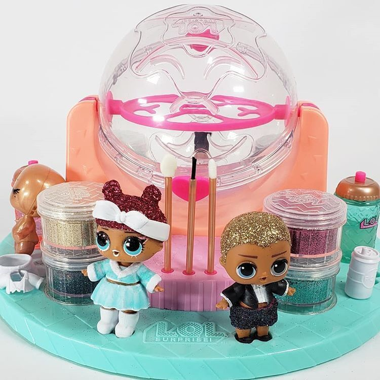 Lol Surprise Diy Glitter Factory Playset With Exclusive Doll