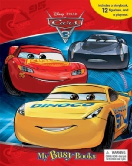 Disney Cars 3 My Busy Book - 12 Figurines (cake toppers)