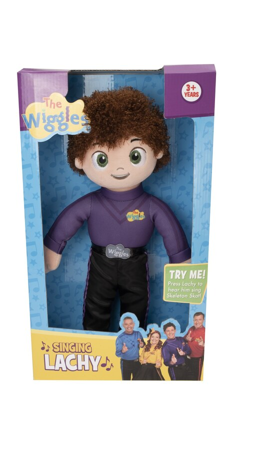 The Wiggles Singing Lachy Plush 40cm