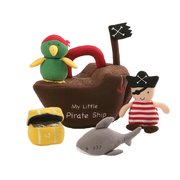 Baby Gund Playset : Pirate Ship 25cm