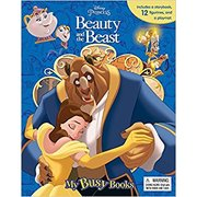 Disney Beauty and the Beast My Busy Book - 12 Figurines