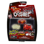 Cars Series 1 Ooshies 4 Pack - 4 to Choose from