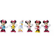 Disney Minnie Mouse Figurines Set of 6 (cake toppers)