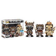 Funko Pop Star Wars Teebo, Chief Chirpa & Logray 3pk Vinyl Figure
