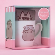 Pusheen The Cat Sock in a Mug - 4 Designs to choose from