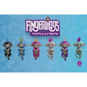 Wow Wee Fingerlings Baby Monkey Interactive Doll - Choose from 6