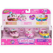 Cutie Cars Shopkins 3 Pack Bumper Bakery Collection