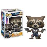 Funko Pop Guardians of the Galaxy: Vol 2 Rocket #210 (slight damage on box)
