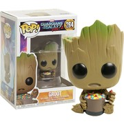 Funko Pop! Marvel Guardians of the Galaxy Groot With Candy Bowl #264 Vinyl Figure