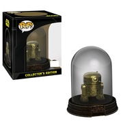 Funko Pop! Star Wars R2-D2 Gold Chrome Vinyl Figure Dome