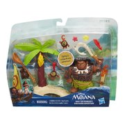 Disney MIni Dolls Moana Maui the Demigod's Kakamora Adventure