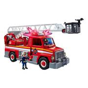 Playmobil City Action Firetruck Rescue Ladder Unit 13pcs