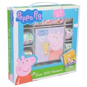Peppa Pig Sticker pad - Over 1000 Stickers