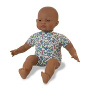 Miniland Educational Soft Bodied Ethnic Baby Doll Latin American 40cm
