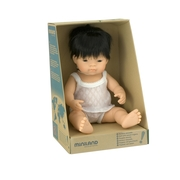 Miniland Educational Baby Doll Asian Boy 38cm