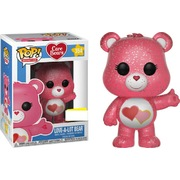 Funko Pop Care Bears Love-A-Lot-Bear Glitter #354 Vinyl Figure