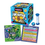 Brain Box The World  Educational Memory Card Game
