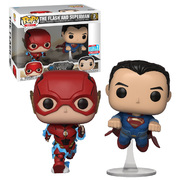 Funko POP Dc Justice League The Flash & Superman 2 Pck NYCC 2018
