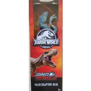 Jurassic World Dino Rivals Velociraptor Blue Basic Action Figure