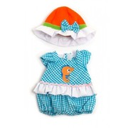 Miniland Doll Clothes Light Romper & Hat Set 32cm