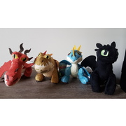 How to Train Your Dragon The Hidden World Plush - Choose from 4