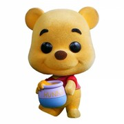 "Cosbaby Hot Toys Winnie the Pooh Flocked 3.75"" Bobble-Head Figure Collectable"