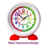 Ertt Easy Read Time Teacher Alarm Clock Past & To - Choose from 2 Colors