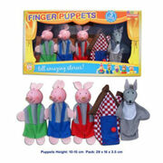 Finger Puppets 3 Little Pigs Story Fun Factory