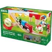 Brio World My First Railway Battery Operated Train Set 25pc
