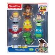 Fisher Price Little People Disney Pixar Toy Story 4 Figure Pack