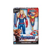 Avengers Endgame Captain Marvel Titan Hero Power Fx