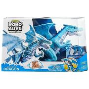 Zuru Robo Alive Ice Blasting Robotic Blue Dragon