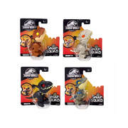 "Jurassic World Snap Squad Set of 4 (Velociraptor ""Blue"", Indoraptor, Tyrannosaurus Rex, Indominus Rex)"