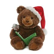 Gund Storytime Animated  Bear 45.5cm - The Night Before Christmas