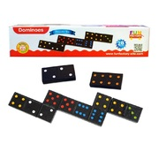 Fun Factory Double Six - 28 wooden dominoes