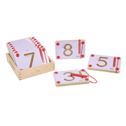Viga Educational Magnetic Writing Board Number Set 10pc