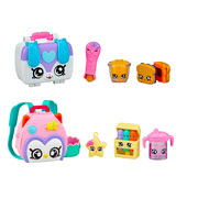 Shopkins Kindi Kids Fun Accessory Packs Set of 2 -  Backpack & Lunchbox