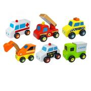 Viga Wooden Mini Vehicles (6 piece set)