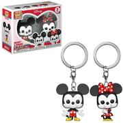 Funko Pocket Pop! Keychain: Disney Mickey & Minnie 2 Pack Vinyl Figures