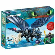 Playmobil How to Train your Dragon Hiccup and Toothless 19pc 70037