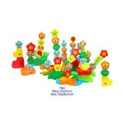 Fun Factory Build a Garden 78pc Wooden Stack Toy