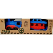 Enviro 100% Recycled Plastic Train Set Bricks Vehicle Series