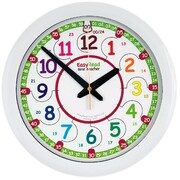 Ertt Easy Read Time Teacher Wall Clock 24 Hour - Choose from 2 Colors