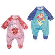 Baby Born Rompers 43cm - Choose from Blue or Pink