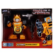 MetalFigs Transformers Autobot Bumblebee Deluxe 4-Inch Figure with Light