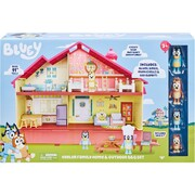 Bluey Heeler Family Home and Outdoor BBQ Playset