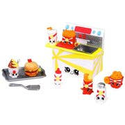 Shopkins S3 Food Fair - Fast Food Playset Collection