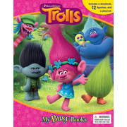 My Busy Book - DreamWorks Trolls Figurines (cake toppers)